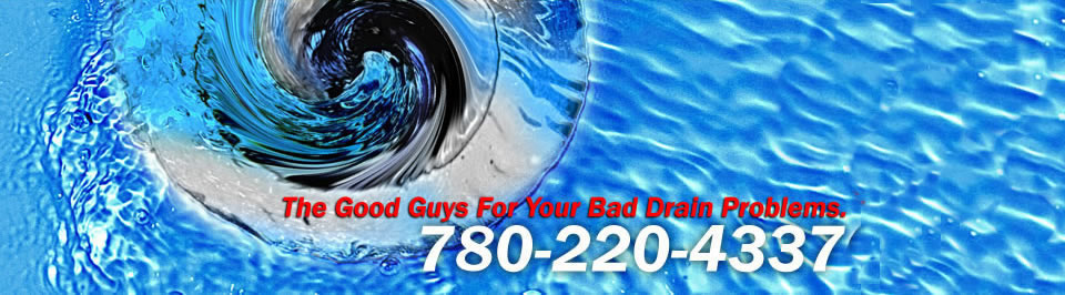 Drain and sewer inspection & video looking for obstructions before rooter Edmonton Alberta